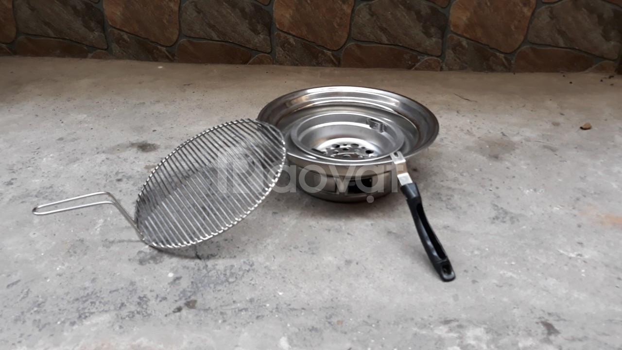 Bếp nướng than hoa âm bàn chất liệu inox cao cấp cho quán nướng (ảnh 3)