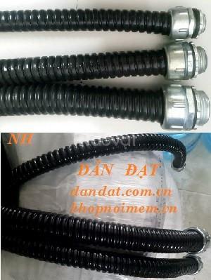 Bộ ống xoắn ruột gà inox, ống ruột gà bọc lưới, ống ruột gà lõi thép