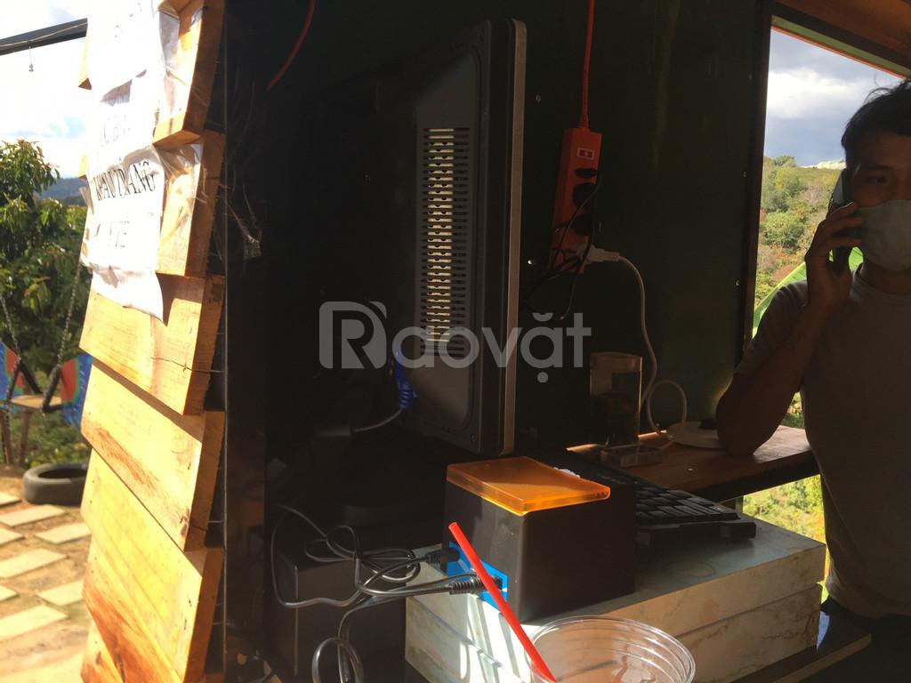 Máy tính tiền cho quán trà sữa tại Đà Lạt (ảnh 1)