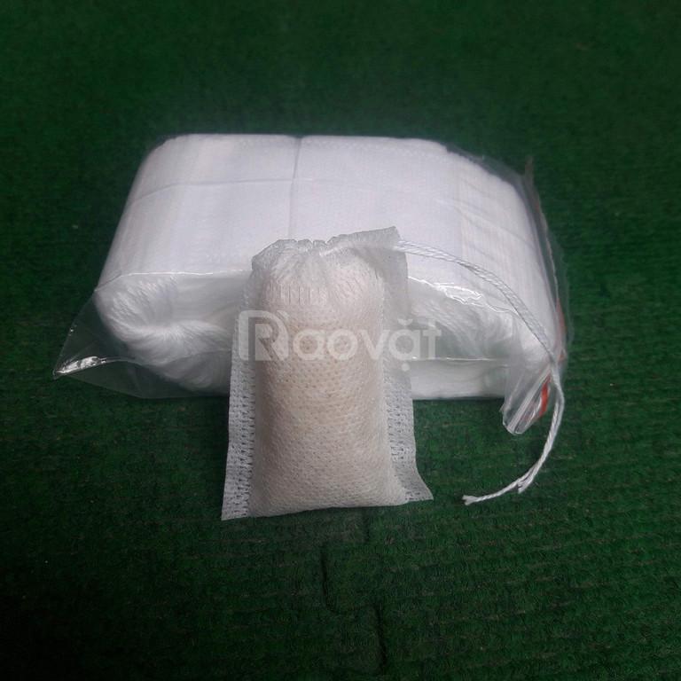 Túi lọc trà, lọc gia vị bằng vải không dệt (ảnh 4)