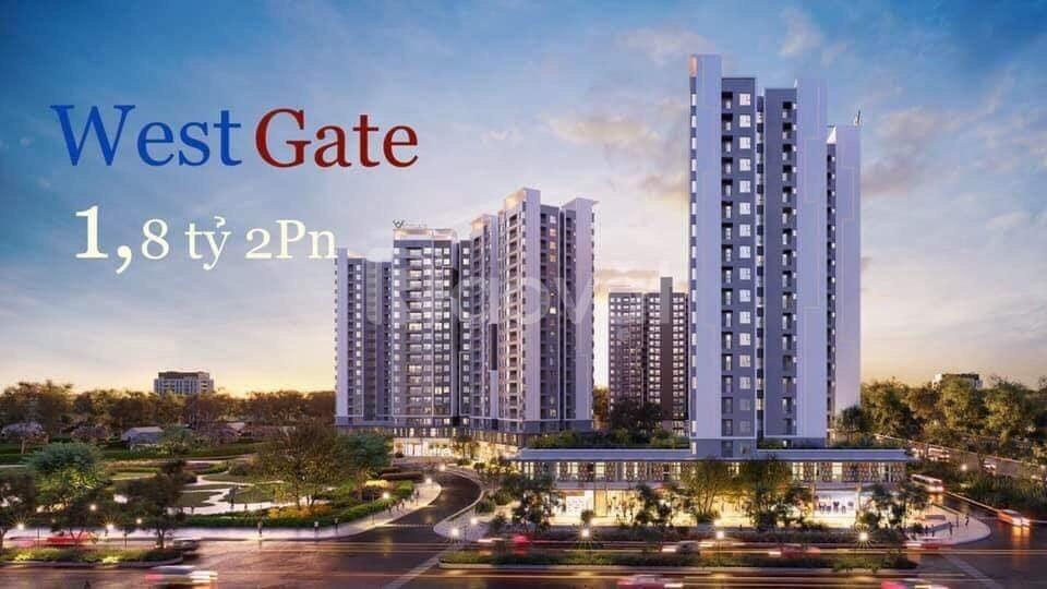 Căn hộ West Gate Bình Chánh, CĐT An Gia, giá 1,8 tỷ đồng
