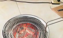 Bếp nướng than hoa âm bàn chất liệu inox cao cấp cho quán nướng