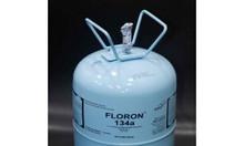 Phân phối sỉ và lể gas lạnh Floron R134 3,2kg