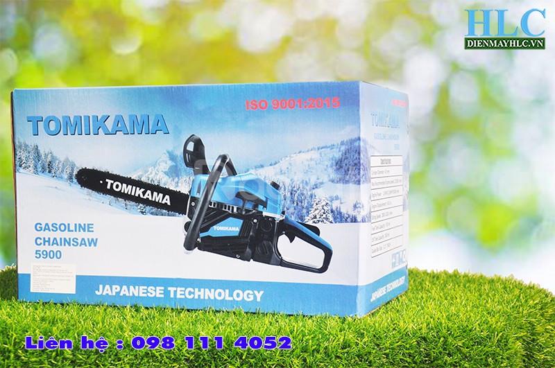 Máy cưa gỗ cầm tay chạy xăng Tomikama 5900 công suất 1,9kw (ảnh 5)