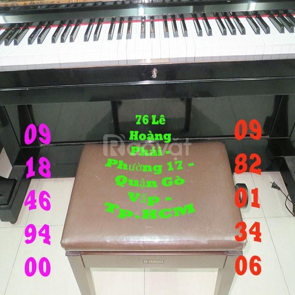 Bán ghế ngồi đàn piano điện không tăng đơ và có tăng đơ hàng Yamaha rẻ