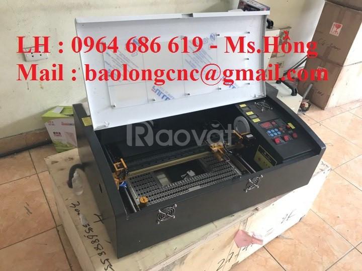 Máy khắc laser mini 3020, máy laser khắc dấu mini nhập khẩu giá rẻ