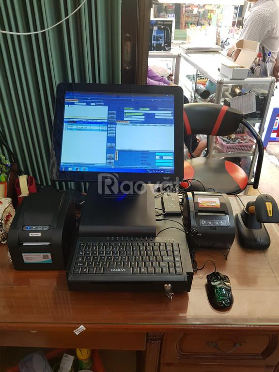 Máy tính tiền cho của hàng điện máy tại Vĩnh Châu