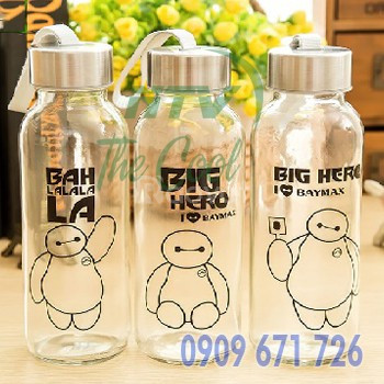 Nơi in bình nước nhựa, nhận in hình lên chai nước - bình nước quà tặng
