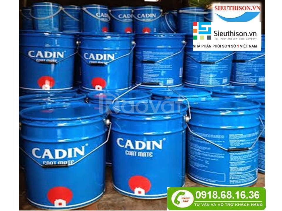 Chuyên bán sơn epoxy 2 thành phần bền màu cho sắt thép tại Bình Dương
