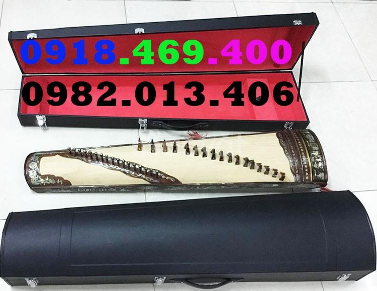 Sản xuất hộp đựng đàn tranh 16, 17, 19. 22 dây đầy đủ size giá rẻ