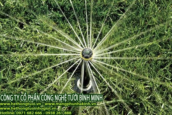 Tưới cảnh quan, vòi phun nước tưới cây,vòi phun xoay 360 độ,béc tưới