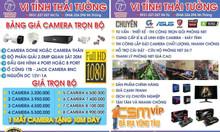 Nhận thi công lắp camera tận nơi giá rẻ cho cơ quan, shop, cửa hàng ..