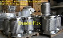 Ống mềm inox 304 có mặt bích DN315, Khớp nối mềm kết nối mặt bích