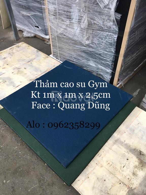 Thảm trải sàn phòng tập gym