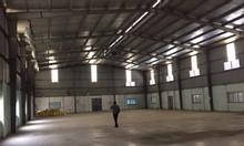 Cho thuê xưởng DT 5000m2 tại bến xe Yên Nghĩa, quận Hà Đông, Hà Nội