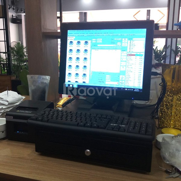 Máy tính tiền cảm ứng az-664 chất lượng giá rẻ