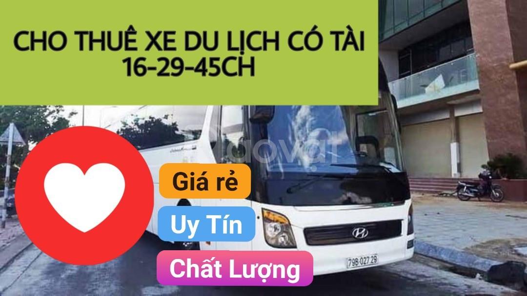 Cho thuê xe du lịch 4-45ch có tài tại TPHCM