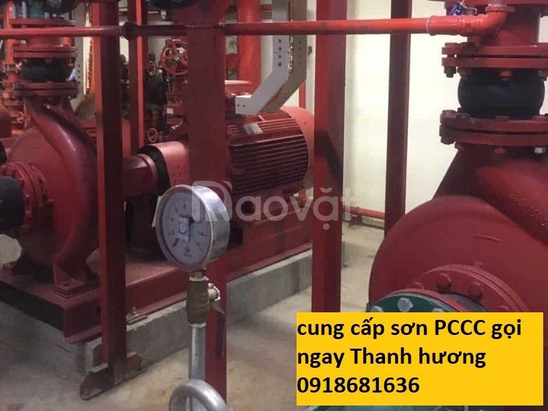 Bán sơn chống rỉ cho ống PCCC giá 48.000 1 lon tại Long An