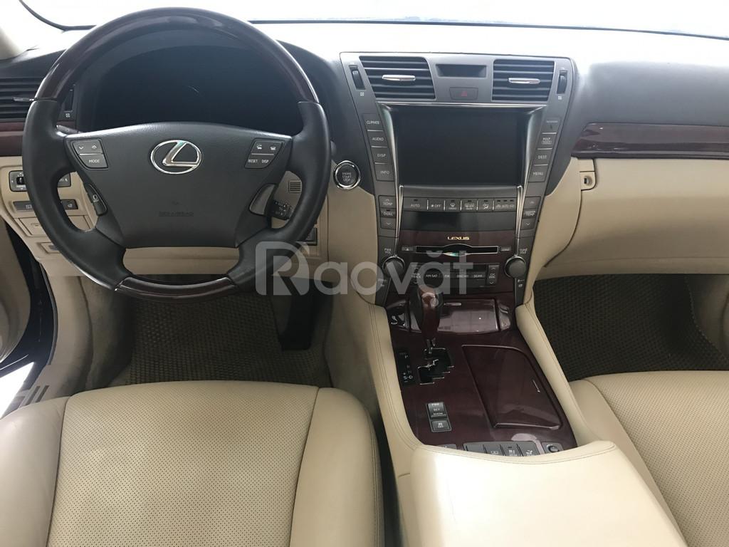 Lexus LS 460, SX 2008.Đky lần đầu 2009,nhập Nhật Bản