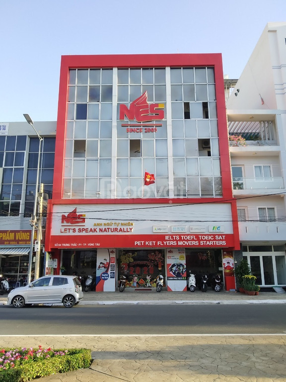 Cho thuê tòa nhà mặt tiền đường Trưng Trắc, Vũng Tàu