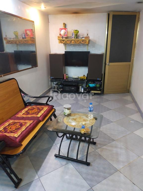 Cho thuê căn hộ tập thể, full nội thất tại Khương Thượng, Đống Đa.