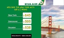 Khuyến mãi đường bay tới Mỹ và Canada đầu năm 2020