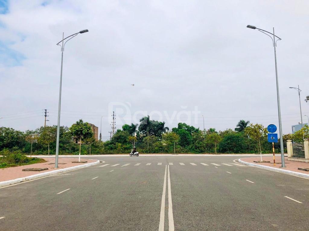 Đất nền sỏ đỏ tự xây đối diện TTHC quận Dương Kinh Hải Phòng.