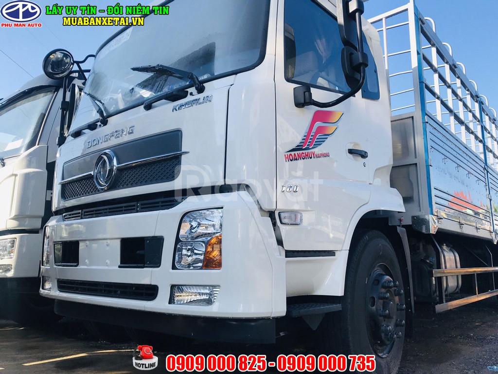 Xe tải Dongfeng 8 tấn B180 thùng dài 9m7 mới Dongfeng