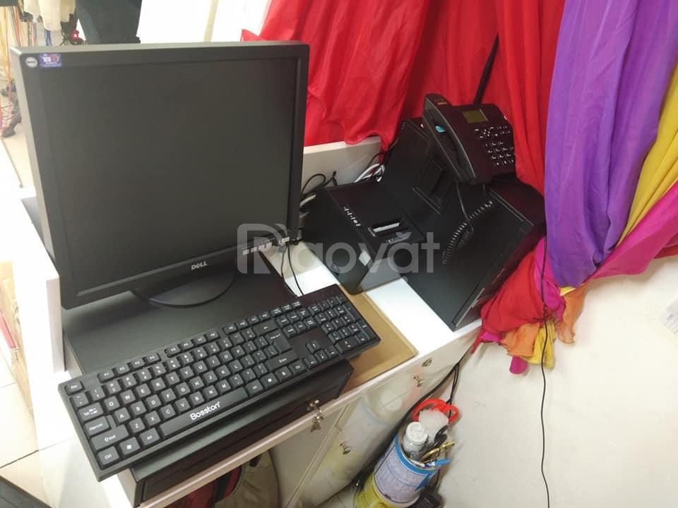 Lắp đặt bộ máy tính tiền cho shop, tạp hóa tại quận Hoàng Mai - Hà Nội