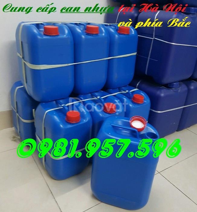 Can nhựa 10l, dụng cụ đựng hóa chất, can giá tốt