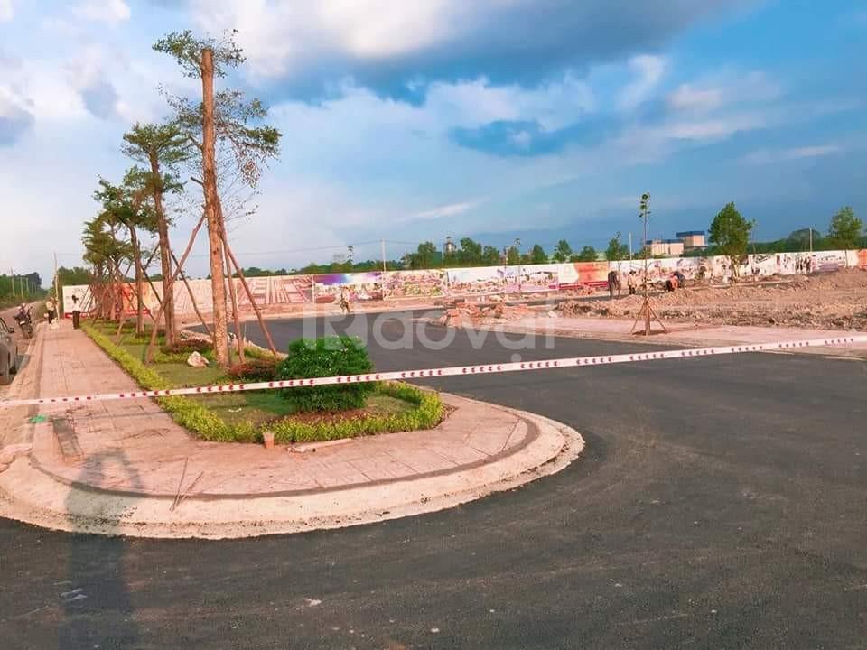 Đất nền, SHR, thổ cư 100%, ngay khu công nghiệp, TTHC Bàu Bàng