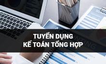 Tuyển kế toán tổng hợp tại Hà Nội