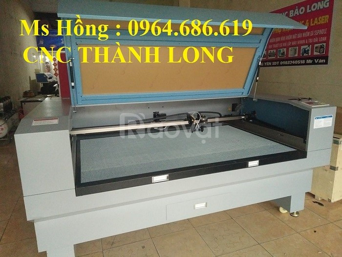 Máy cắt vải laser 2 đầu, máy cắt laser 1610 -2 đầu giá rẻ Hà Nội