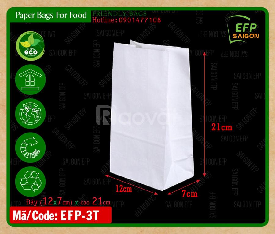 Túi giấy đựng gà rán
