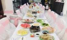 Nấu cỗ tại nhà Hà Đông