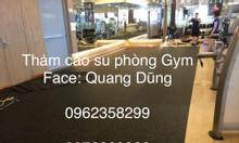 Thảm cao su phòng gym giá rẻ