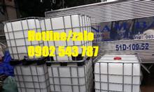Tank nhựa 1000L mới, tank ibc 1000L mới, thùng nhựa ibc 1000L