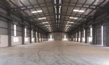 Cho thuê kho xưởng DT 3200m2 KCN Phố Nối Văn Lâm Hưng Yên
