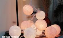 Đèn trang trí phòng cưới - Đèn cotton ball - 165k