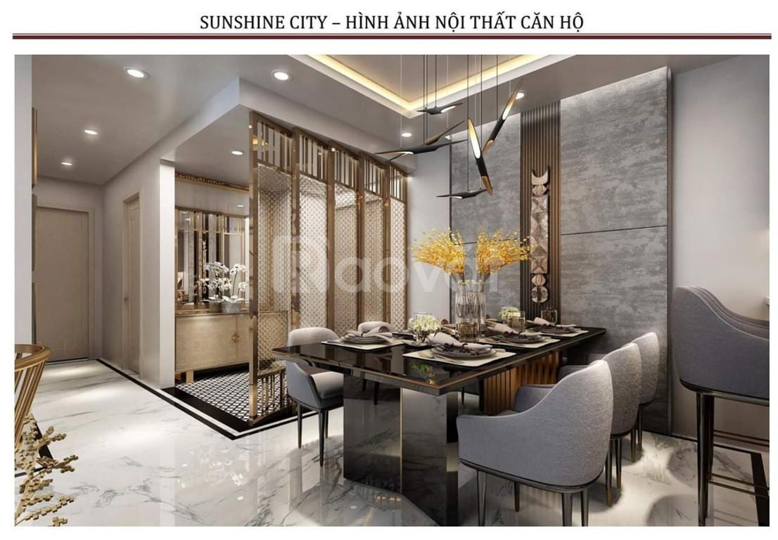 Bán căn góc 2PN full NT dát vàng Sunshine City Ciputra  (ảnh 5)