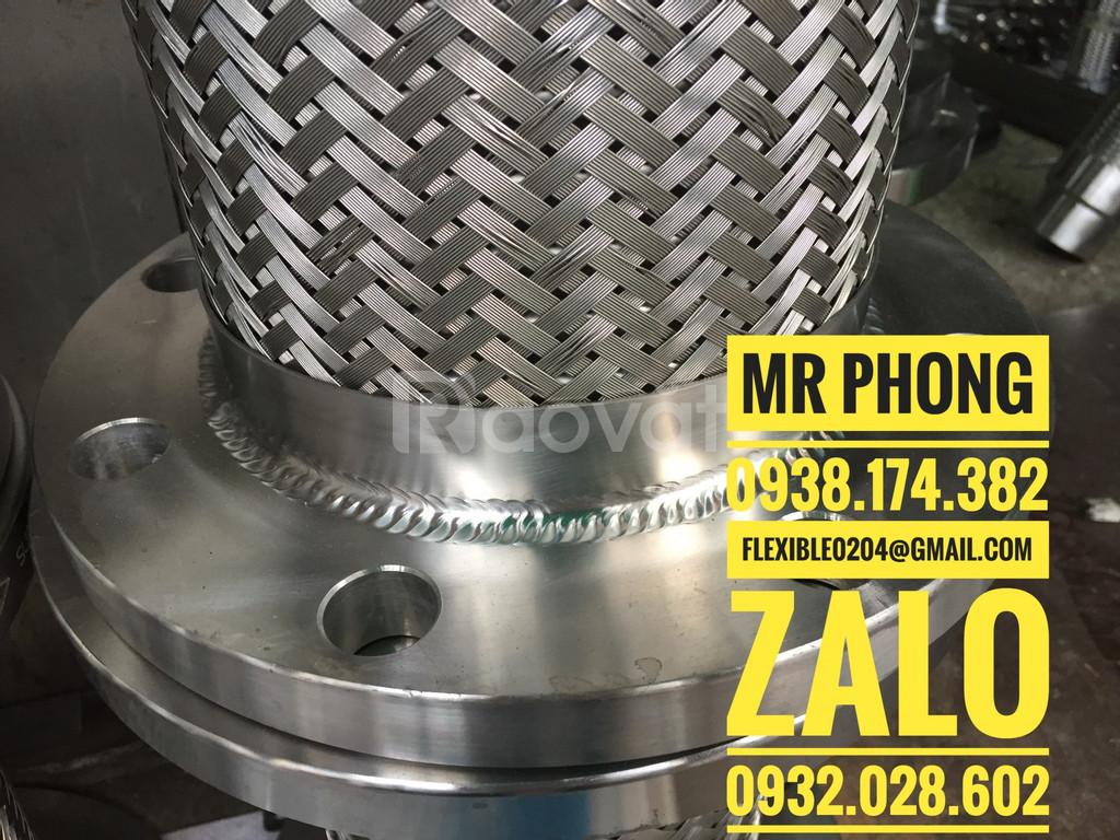 Ống mềm inox 304-ống inox mềm-khớp nối mềm chịu nhiệt
