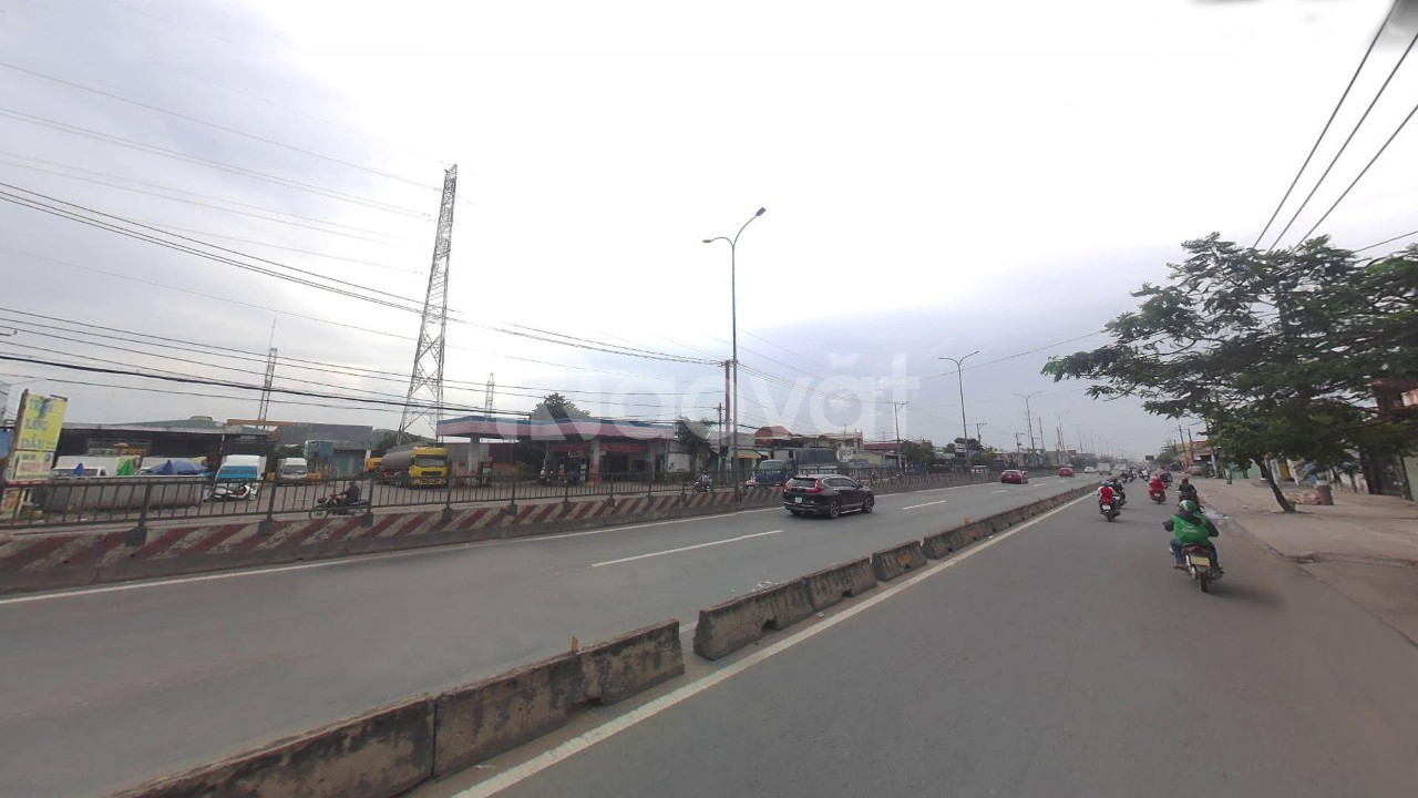 Bán đất lớn 2 mặt tiền quốc lộ 1 A, Bình Tân
