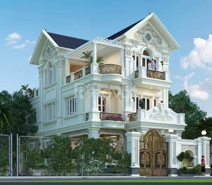 Nhận thiết kế nhà phố, biệt thự, giá rẻ, quận Tân Bình, Tân Phú (ảnh 1)