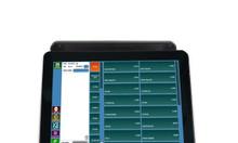 Máy tính tiền cảm ứng az-8000 hai màn hình