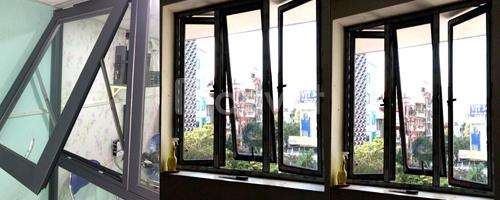 Cửa hàng nhận thi công lắp đặt cửa cuốn khe thoáng ở tại Hà Nội