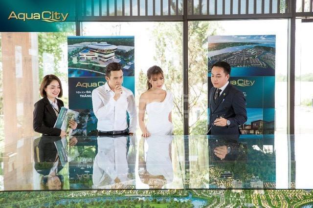 Nhà phố vườn Aqua City- Cam kết mua lại với LS 15%/năm.