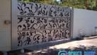 Cửa, cổng biệt thự, nhà phố đẹp cắt CNC nghệ thuật, sơn tĩnh điện (ảnh 4)