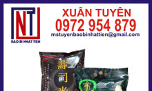 Bao bì gạo 5kg, túi đựng gạo 5kg đục quai