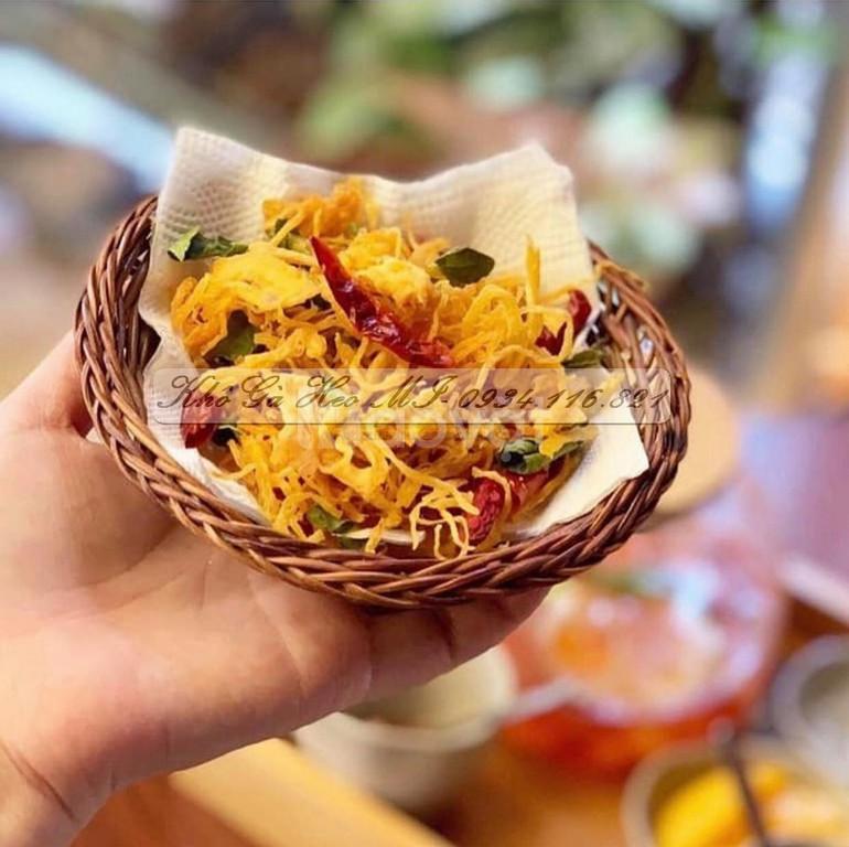 Khô gà lá chanh- Thương hiệu Heo Mi Foods (ảnh 1)