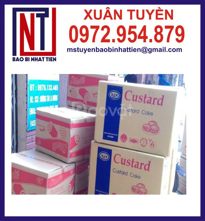 Bao bì carton dùng trong ngành thực phẩm